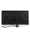 Flashing Led Neon Shop Window Display Open Welcome Sign Hanging Door Bright