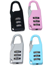 4 Combination Number Padlock Luggage Case Bag Secu