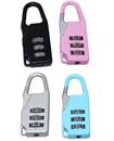 4 Combination Number Padlock Luggage Case Bag Secu