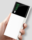 Portable 10,000mAH Dual USB Port LCD LED External Power Bank Backup Battery Charger