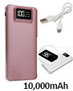 10,000mAH Dual USB Port Digital Power Bank Backup Battery Charger