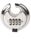 4 Digit Combination 65mm Disc Lock Padlock with Ha