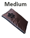 DOUBLE SIDED WATERPROOF DOG PET CAT BED MAT CUSHION MATTRESS WASHABLE COVER   M  Black