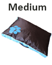 DOUBLE SIDED WATERPROOF DOG PET CAT BED MAT CUSHION MATTRESS WASHABLE COVER M blue