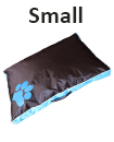 DOUBLE SIDED WATERPROOF DOG PET CAT BED MAT CUSHION MATTRESS WASHABLE COVER   S blue