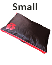 DOUBLE SIDED WATERPROOF DOG PET CAT BED MAT CUSHION MATTRESS WASHABLE COVER     S red