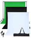Photo Studio Black White Green Backdrop Chroma Key