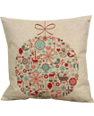 "16"" Fabric Pillow Case Sofa Cushion Cover"