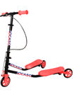 3 Wheel Push Scooter Winged Speeder Tri Drifter Kids Boys Girls