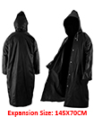 Outdoor Waterproof Women Men Raincoat EVA Cloth Long Rain Coat Poncho With Hat