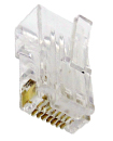 RJ45 CAT5 & CAT5E Modular Plug Network Connector