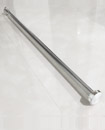 Telescopic Shower Curtain Rail Extendable 125-220c