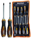 High Quality 8pcs Go-through Screwdriver Set with Carry Bag