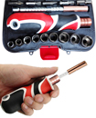 21pcs Multi-functional Screwdriver & Socket Set