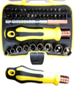 47pcs Multi-functional Screwdriver & Socket Set
