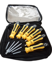 High Quality 6pcs Screwdriver Set (Yellow & Black)