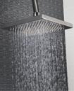 "8"" Large Square Chrome Plated Bathroom Rain Water"