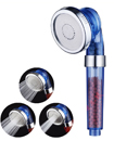 Bath Shower Head High Pressure 300 Turbocharged Water Saving Ionic Health Filter