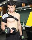Shoulder Dislocation Injury Arthritis Pain Support Strap Brace  R