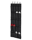20 Pocket Hanging Over Door Shoe Organiser Storage Rack Tidy Space 4 HOOKS Saver