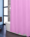 Plain Shower Bathroom Curtain Liner with 12 Hook Ring Set