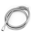 2.5 Meter Stainless Steel Chrome Flexible Bathroom Bath Shower Head Hose Pipe Washers