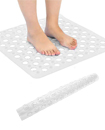 Bath Shower Mat Non-Slip PVC Bathroom Rubber Mats Anti Slip Suction