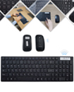 Slim 2.4GHZ Wireless Keyboard and Cordless Optical Mouse Combo For PC Laptop