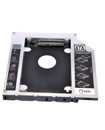 SATA 12.7mm Semi-Aluminum Hard Disk Drive HDD to SATA Bay Caddy Adapter Tray for Laptop