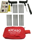 31Pcs Tire Puncture Repair Kit Tool Emergency Car, Van, Motorcycle for Tubeless Tyre