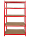 5 Tier Boltless Industrial Racking Garage Shelving