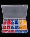 900Pcs Assorted Insulated Electrical Wire Terminal