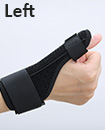 Left Thumb Spica Splint & Wrist Support Brace De Quervains Tendonitis Arthritis Pain Relief
