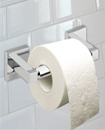 Square Bathroom Bar Toilet Roll Holder