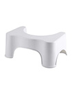 Toilet Stool Non Slip Bath Bathroom Squat Step Stool Platform Sit Step Shower Chair