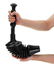 Toilet Plunger Clears Remove Drain Blockages 8x More Powerful Durable & Easy Clean M&W