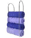 Wall Mounted Chrome Towel Rack Holder Bathroom Sto