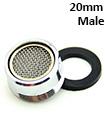 20*1 Male Brass shell +brass inner NBR