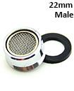22*1 Male Brass shell +brass inner NBR