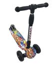 Kids Scooter Kick Child LED 3 Wheel Push Outdoor TRI Folding