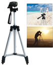 Professional Aluminum Tripod Stand Holder For Digital Camera SLR Smart Phones Mobile Phones