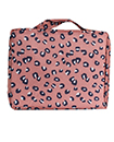 Multi-function Travel Storage Bag Water-proof Oxford fabric Floral Print Cosmetic Bag - Blue - Leopard Print