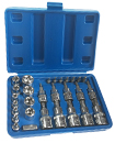 Male Female Torx Star Socket & Bit Set/ 29pcs E &
