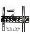 39 to 55 Inches Slim Tilt Spirit Level TV Wall Bracket Mount for TV LED LCD Plasma