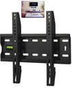 15 to 42 Inches Fixed TV Wall Mount Bracket with Built-In Spirit Level