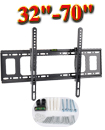 Slim TV Wall Bracket Mount Tilt For 32 35 40 50 55 60 65 70 Inch LCD LED Plasma