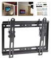 14-42 Inches Tilt Wall Mount Bracket with Spirit Level for TV LED LCD Plasma