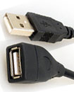 High Quality 5 Meter USB 2.0 A Male to A Female Ex