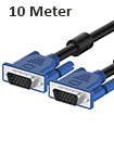 High Quality 10 Meter VGA Male to Male Cable