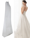 72 Inches Showerproof Wedding Dress Cover Garment Clothes Storage Zip Bag